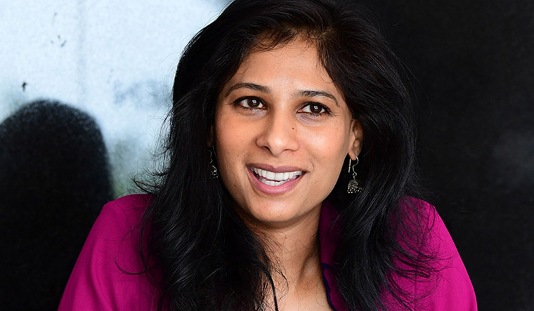 Gita Gopinath joins IMF as its first female chief