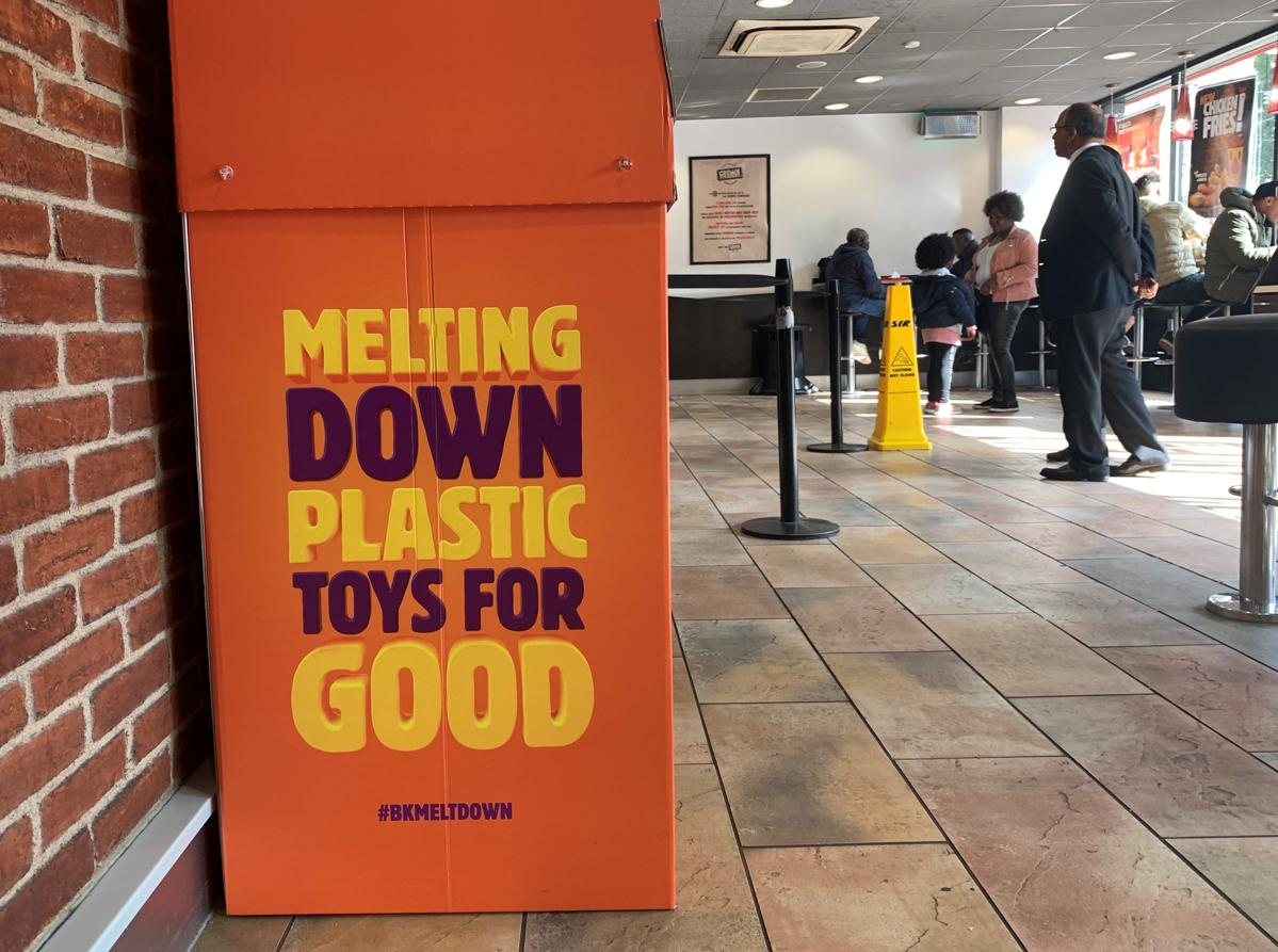 Burger King, McDonald's rethink giving away plastic toys